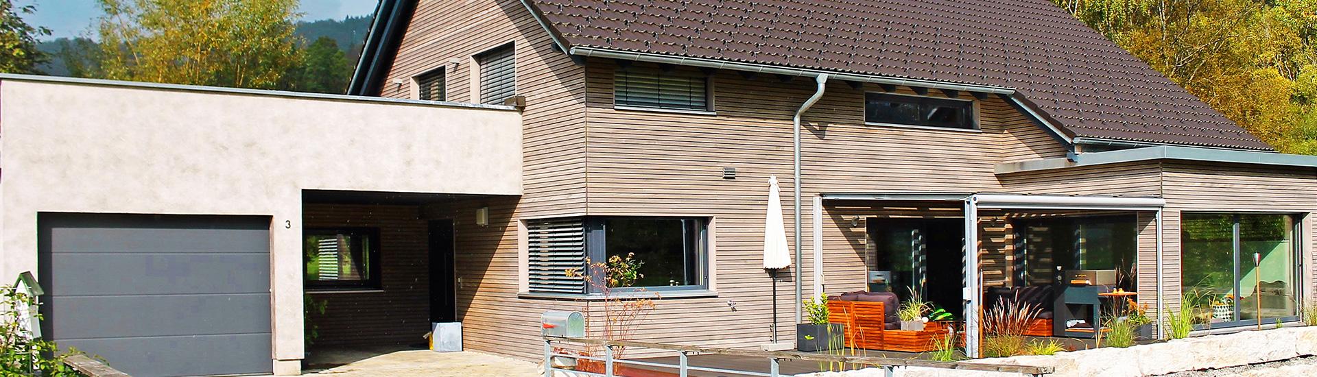 Holzfassade Haus fassaden und holzfassaden milkau